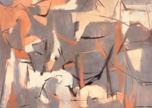 Number 5, 1950. Óleo sobre lienzo, 89 x 115 cm
